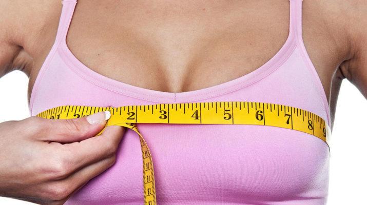 Как увеличить грудь народными средствами