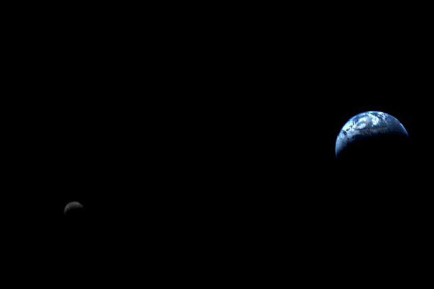 Уникальные снимки со спутника «Вояджер-1»